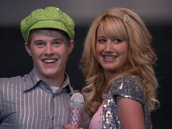 "Lucas Grabeel as Ryan Evans and Ashley Tisdale as Sharpay Evans in ""High School Musical."" 9 Credit Disney Channel"