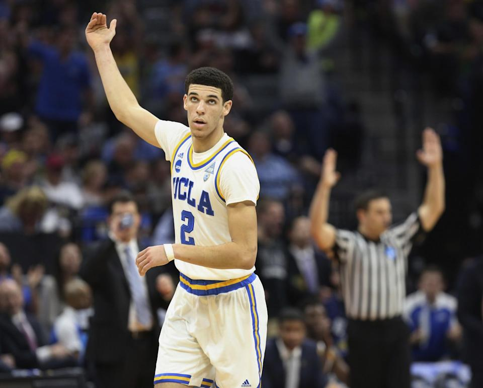 Lonzo Ball has a unique blend of size and creativity for a point guard. (AP)