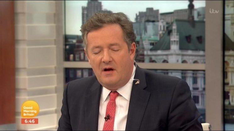 Are you ok hun? Followers worry about Piers Morgan after he tweets the Conservative party are looking at a majority in the general election (ITV)