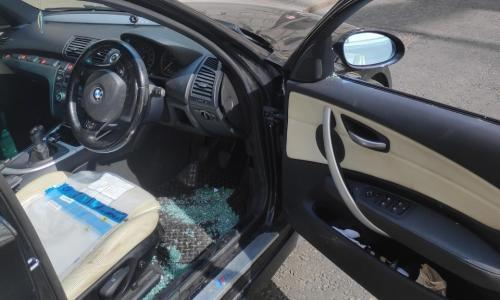 Man wants police to pay for car window smashed during search