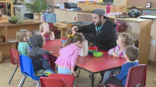 The province has announced that the curriculum for the new public pre-kindergarten program will be the same as what is currently being taught in P.E.I.'s early years centres. (Steve Bruce/CBC - image credit)
