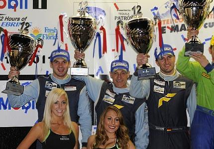 Second place for Porsche in the new GTE-AM class at Intercontinental and American Le Mans series