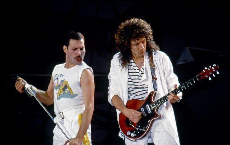 Brian May and Freddie Mercury were incredibly close friends.
