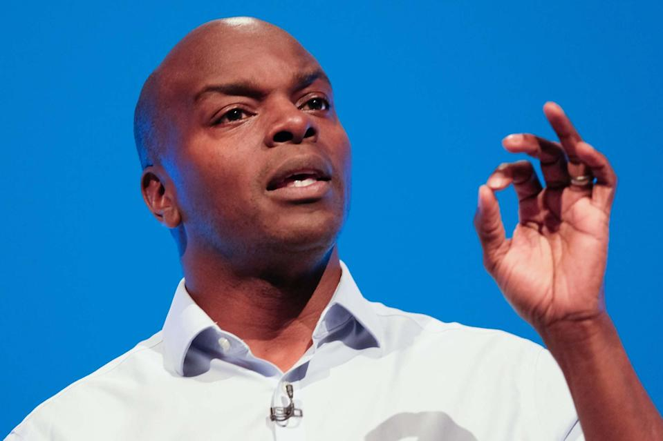 Shaun Bailey, Conservative candidate for the Mayor of London (Getty Images)