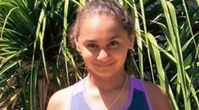 Denishar Woods, 11, suffered a severe electric shock after touching a garden tap. Source: GoFundMe/Denishar Woods Appeal