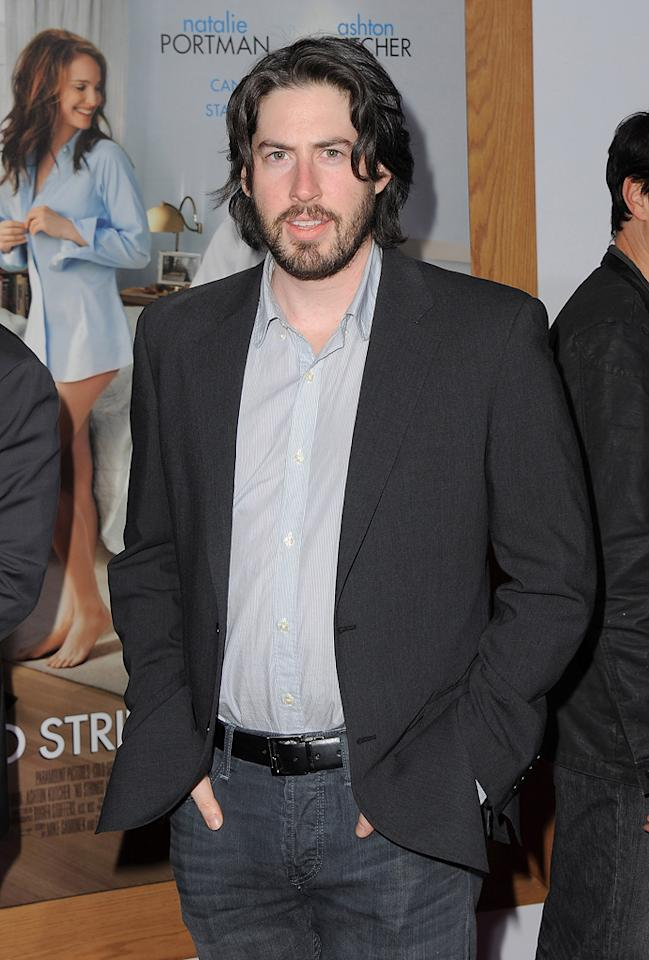 """<a href=""""http://movies.yahoo.com/movie/contributor/1804141701"""">Jason Reitman</a> attends the Los Angeles premiere of <a href=""""http://movies.yahoo.com/movie/1810159162/info"""">No Strings Attached</a> on January 11, 2011."""