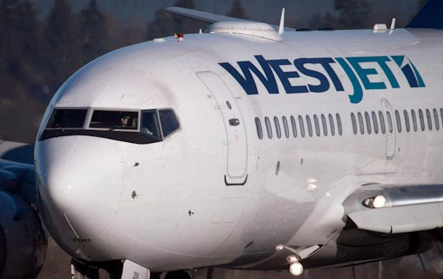 <p>No. 10: WestJet<br>Last year's rank: 54<br>(THE CANADIAN PRESS/Darryl Dyck) </p>