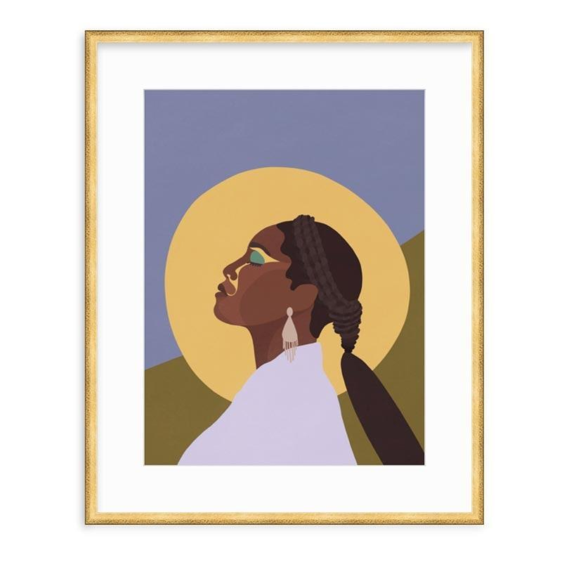 """Framebridge is a go-to for custom-framing ideas, but it recently launched a collection of framed art prints (liked this illustration of Issa Rae by <a href=""""https://fave.co/34yDxkX"""" rel=""""nofollow noopener"""" target=""""_blank"""" data-ylk=""""slk:Paula Champagne"""" class=""""link rapid-noclick-resp"""">Paula Champagne</a>) to highlight and support the work of various Black artists. $165, Framebridge. <a href=""""https://www.framebridge.com/shop/issa?variant-sku=PS-ISSA-GoldwithBlack-Large"""" rel=""""nofollow noopener"""" target=""""_blank"""" data-ylk=""""slk:Get it now!"""" class=""""link rapid-noclick-resp"""">Get it now!</a>"""