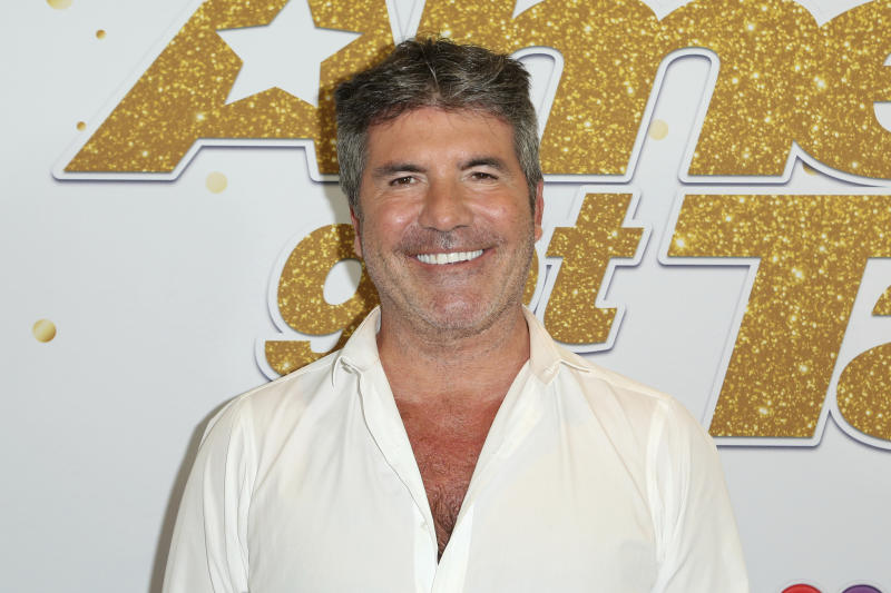 Simon Cowell at the America's Got Talent Season 13 finale show in 2018 (AP)