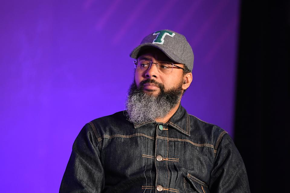ATLANTA, GEORGIA - DECEMBER 15:   Rodney Sampson onstage during ESSENCE + New Voices Entrepreneur Summit And Target Holiday Market at West End Production Park on December 15, 2019 in Atlanta, Georgia. (Photo by Paras Griffin/Getty Images for ESSENCE)