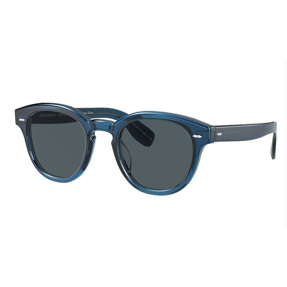 """<p><a class=""""link rapid-noclick-resp"""" href=""""https://go.skimresources.com?id=127X678080&xs=1&url=https%3A%2F%2Fwww.oliverpeoples.com%2Finternational%2F0OV5413SU--1670R5"""" rel=""""nofollow noopener"""" target=""""_blank"""" data-ylk=""""slk:SHOP"""">SHOP</a></p><p>These Cary Grant sunglasses were inspired by the shape worn in the 1959 Hollywood classic North By Northwest. The blue hue is a little more unexpected and almost certainly something she won't already have.</p><p>$492, Oliver Peoples</p>"""