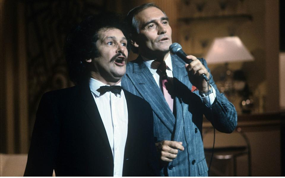 Cannon and Ball had initially set out as a musical act, and Ball's career began when he sang on Workers' Playtime aged six - ITV/Shutterstock