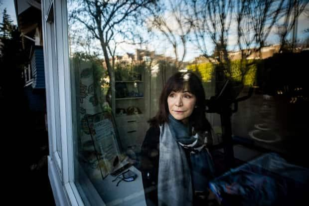 Anna Nyarady, pictured at her home in Vancouver on Feb. 17 where she is currently in quarantine. Nyarady estimates she has spent three-quarters of the last 12 months in quarantine because she travels regularly to the States to take part in a clinical cancer trial.