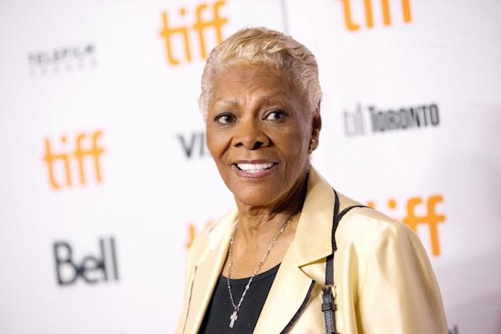 """Dionne Warwick attends the """"Dionne Warwick: Don't Make Me Over"""" Premiere during the 2021 Toronto International Film Festival at Princess of Wales Theatre on September 11, 2021 in Toronto, Ontario. (Photo by Emma McIntyre/Getty Images)"""