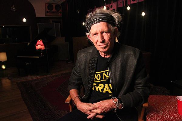 Grown Up Right: Keith Richards Recalls Childhood in Kids' Book