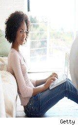 college girl with laptop - federal student aid rules