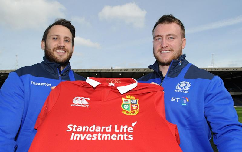 Stuart Hogg and Tommy Seymour were the only two Scotsmen picked in the Lions squad - Rex Features