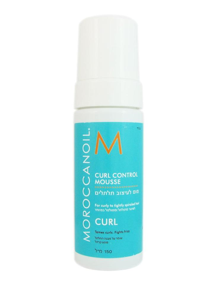 "<span>""You'd actually want to use a curl-defining mousse, since it's going to help define your waves and lock them together, so they don't go rogue. With a wide-tooth comb, comb a baseball-size puff of mousse through your sopping wet hair, from root to tip, then let it air-dry. As it dries, wind small sections of damp hair around your fingers to create smooth, rope-y waves.""</span>     MoroccanOil Curl Control Mousse, $23; at <a rel=""nofollow"" href=""https://www.moroccanoil.com/us_en/hair-care-curl-control-mousse-us"" rel="""">MoroccanOil</a>"