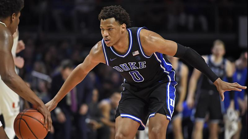 Stock Up, Stock Down from Duke's thrashing of Miami in South Beach