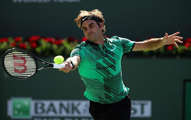 <span>Roger Federer is in majestic form</span>