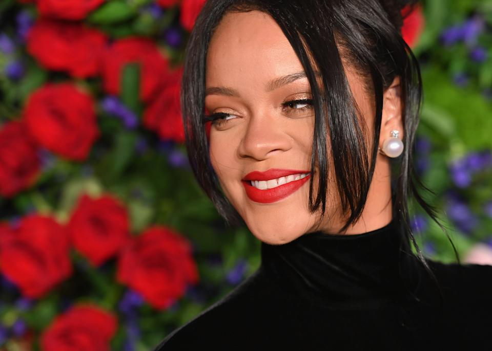 Barbadan singer/actress Rihanna arrives for Rihanna's 5th Annual Diamond Ball Benefitting The Clara Lionel Foundation at Cipriani Wall Street on September 12, 2019 in New York City. (Photo by Angela Weiss / AFP)        (Photo credit should read ANGELA WEISS/AFP via Getty Images)