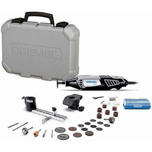 """<p><strong>Dremel</strong></p><p>amazon.com</p><p><strong>$81.56</strong></p><p><a href=""""https://www.amazon.com/dp/B002L3RUVG?tag=syn-yahoo-20&ascsubtag=%5Bartid%7C2164.g.36719588%5Bsrc%7Cyahoo-us"""" rel=""""nofollow noopener"""" target=""""_blank"""" data-ylk=""""slk:Shop Now"""" class=""""link rapid-noclick-resp"""">Shop Now</a></p><p>We see you, pumpkin carving experts! If the usual kits aren't exciting enough for you, you might want to splurge on a Dremel tool this year. It's certainly not the right choice for parents with young children (assuming you'd like them to be part of the carving experience), but it <em>is</em> an excellent option for anyone who wants to really impress the neighbors with detailed, high-tech designs. Just make sure to read through all of the product's safety specs <a href=""""https://us.dremel.com/en_US/projects/-/project-details/161874/pumpkin-carving"""" rel=""""nofollow noopener"""" target=""""_blank"""" data-ylk=""""slk:on Dremel's website"""" class=""""link rapid-noclick-resp"""">on Dremel's website</a>, as well as the specific project instructions.</p>"""