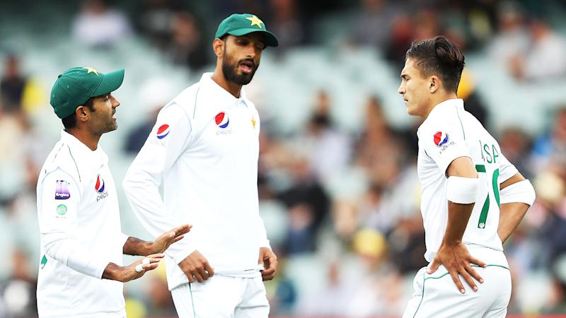 Pakistan's fielding left a lot to be desired on day one of the Adelaide Test.