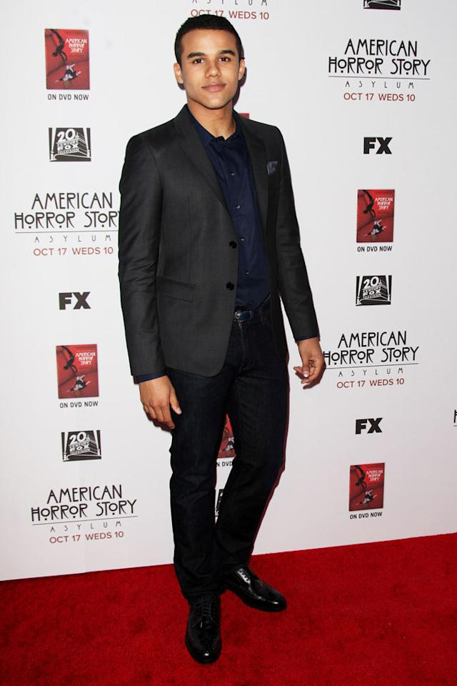 """Jacob Artist attends the """"American Horror Story: Asylum"""" premiere held at Paramount Studios on October 13, 2012 in Hollywood, California."""