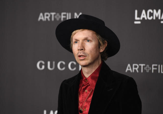 Beck attends the 2019 LACMA 2019 Art + Film Gala Presented By Gucci at LACMA on November 02, 2019 in Los Angeles, California. (Photo by Frazer Harrison/Getty Images)