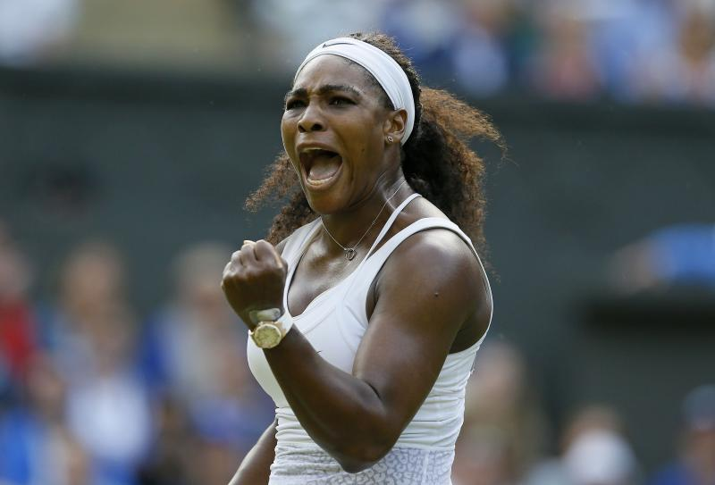 All-Williams matchup headlines Monday's action at Wimbledon