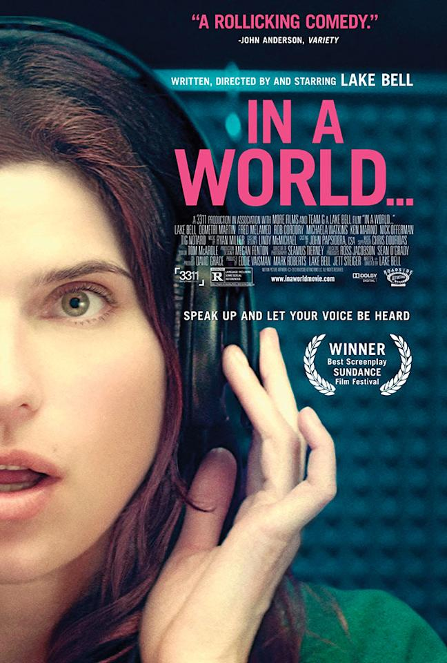 """Roadside Attractions' """"In a World..."""" - 2013"""