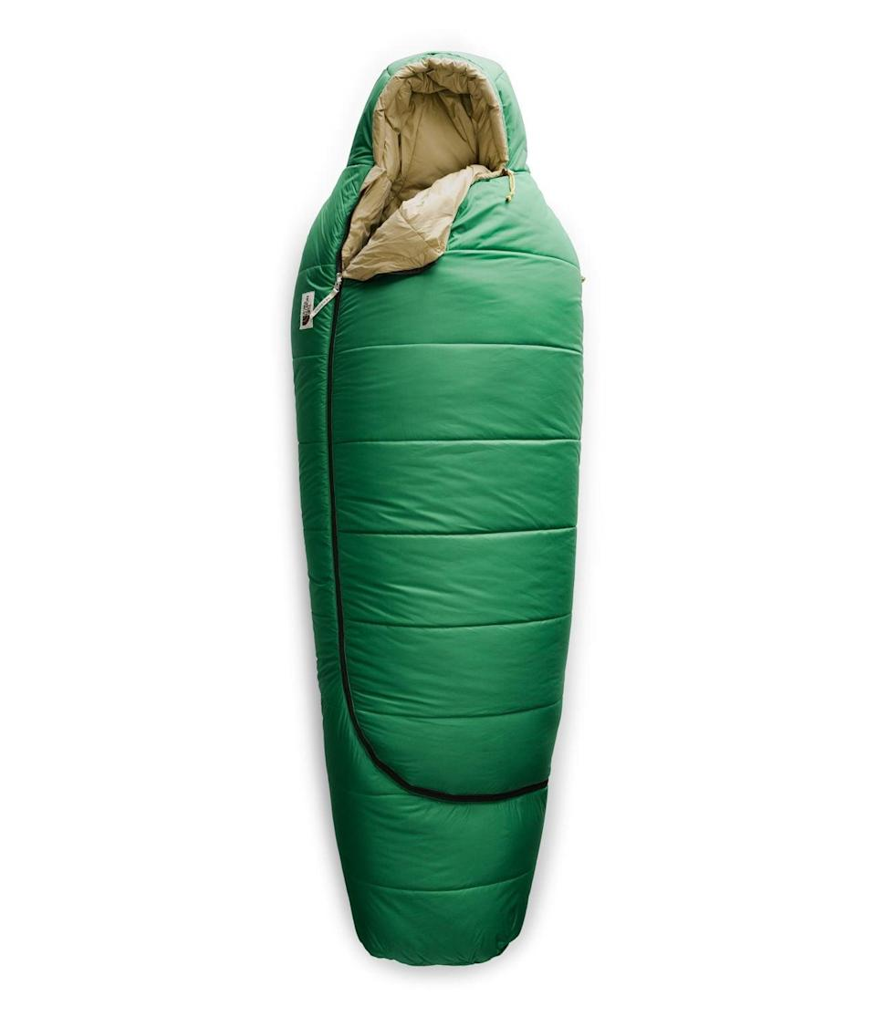 <p>Stay super warm and cozy in this <span>The North Face Eco Trail Synthetic 0</span> ($104, originally $149) sleeping bag.</p>