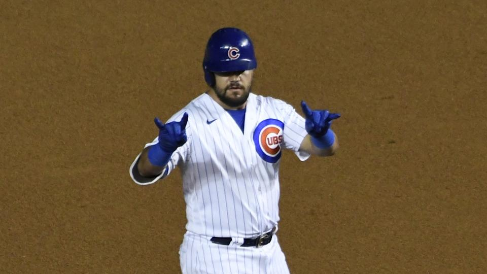 Kyle Schwarber with Cubs