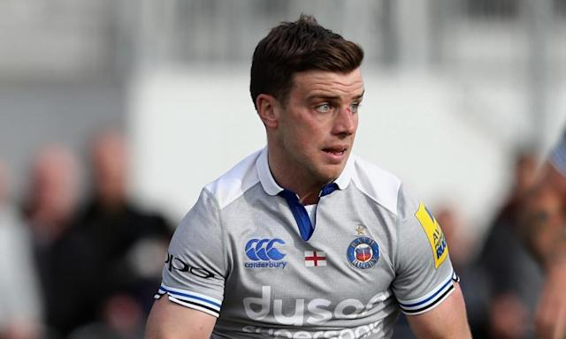 "<span class=""element-image__caption"">George Ford will move back to Welford Road in the summer in a deal worth a reported £450,000 a year. </span> <span class=""element-image__credit"">Photograph: David Rogers/Getty Images</span>"