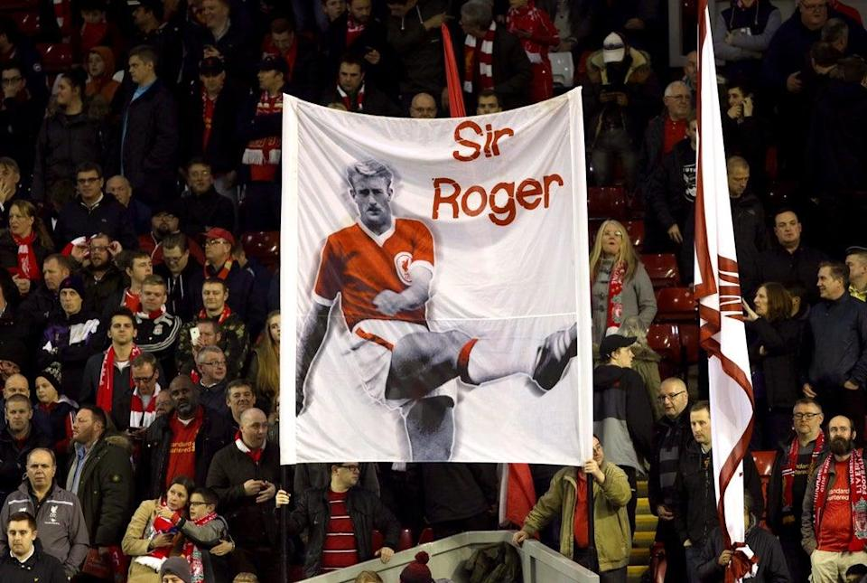 Roger Hunt is still revered by Liverpool fans (PA)