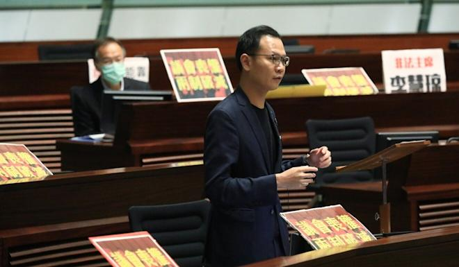 Civic Party lawmaker Dennis Kwok is among opposition figures undergoing scrutiny as part of their election bids. Photo: May Tse