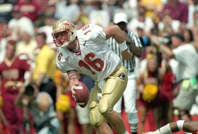 Former Florida State Heisman Trophy winner Chris Weinke — Getty Images