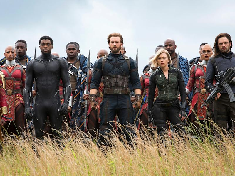 Every superhero from the Marvel universe will unite against evil in the upcoming Avengers movie: Chuck Zlotnick/Marvel Studios
