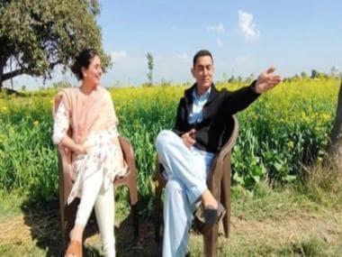Kareena Kapoor Khan wraps up Laal Singh Chaddha shoot, shares picture with co-star Aamir Khan