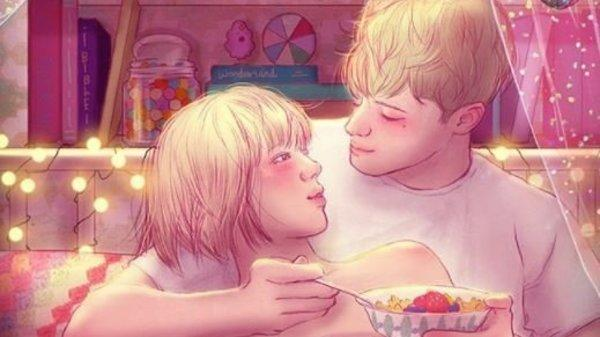 13 Gorgeous Illustrations That Capture The Magic Of Falling In Love