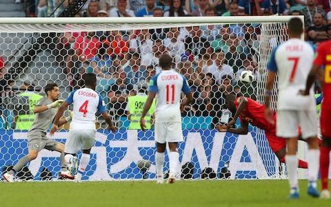 "England vs Tunisia, World Cup 2018: live score and latest updates Paul Hayward: It's now or never for England In pictures: All the colour, drama and atmosphere from the 2018 World Cup A superb volley from Dries Mertens and two clinical finishes from Romelu Lukaku ensured England's Group G rivals Belgium eased to a winning start at the 2018 World Cup. After labouring in the first half, Belgium upped the intensity after the interval and ultimately ran out comfortable 3-0 winners. Mertens' beautiful volley from just inside the area calmed Belgium's nerves after 48 minutes, before Lukaku headed home 22 minutes later and then doubled his personal tally soon after with a dinked finish from Eden Hazard's pass. Manager Roberto Martinez will be pleased with the result, even if the performance wasn't always convincing. The other sides in Group G - England and Tunisia - meet this evening. 6:06PM Opta's twopenn 'orth Belgium are now unbeaten in their last 10 World Cup group games (W5 D5 L0), winning each of their last five. Each of the last 11 goals that Belgium have scored in World Cup matches have come after half-time. Panama were given five yellow cards in this match – the last time that a team were given more in a single World Cup game was in the 2010 final (Netherlands – seven). Overall, there were eight yellow cards in this match between Belgium and Panama – the most of any game at the 2018 World Cup so far and also more than in any single game at the 2014 tournament. Belgium have won all 13 international matches that Dries Mertens has scored in. Dries Mertens became the first Belgian player to score in two successive World Cup tournaments since Marc Wilmots (1998 and 2002). Romelu Lukaku has been directly involved in 13 of Belgium's last 19 goals (11 goals, two assists). Only Jan Ceulemans (6) has scored more goals in major tournaments (World Cup & European Championships) for Belgium than Romelu Lukaku (5 - level with Marc Wilmots). Eden Hazard has been directly involved in 16 goals in his last 15 appearances for Belgium (eight goals, eight assists). 6:04PM Post-match stats Next up for #BEL and #PAN...@BelRedDevils: #TUN@fepafut: #ENG#WorldCuppic.twitter.com/xQjFHbFMe9— FIFA World Cup �� (@FIFAWorldCup) June 18, 2018 5:55PM Full time Look at the scoreline and you would think it was a comfortable victory but it wasn't. Belgium toiled for much of the game but scored three tremendous goals. A lot to like about Panama, their dedication paramount. 5:54PM 90+4 min Belgium 3-0 Panama Panama give their fantastic fans a tonic by trying to chip the keeper from 70m a split second after the referee had blown his whistle for a foul. 5:53PM 90+2 min Belgium 3-0 Panama There will be four added minutes. Curious match - Panama have demonstrated vigour and heart, Belgium a real flair in each of their three goals but they came in an otherwise perplexingly stilted performance. 5:51PM 90 min Belgium 3-0 Panama Here are Lukaku's two finishes: Romelu Lukaku scores his first and Belgium's second Credit: REUTERS/Hannah McKay Lukaku dinks his shot over the keeper to score Belgium's third Credit: REUTERS/Carlos Garcia Rawlins 5:49PM 89 min Belgium 3-0 Panama Chadli finally enters the fray, replacing Witsel. 5:48PM 87 min Belgium 3-0 Panama De Bruyne is given a yellow card for studding Cooper in the midriff. He won the dropping ball with a raised leg but carried on maliciously with his thrust. 5:45PM 85 min Belgium 3-0 Panama Sharp intervention from Courtois to save at Diaz's feet after he and Tejada got round the back but the sub was offside, not that the keeper knew when he shot out and dived headfirst at his feet. 5:44PM 84 min Belgium 3-0 Panama Thorgen Hazard replaces Dries Mertens. And Nacer Chadli is stripped too and waiting to come on as Belgium kill time. 5:42PM 82 min Belgium 3-0 Panama Belgium free-kick about 20m out, left of centre. Hazard takes it and thumps it straight into the wall. 5:40PM 79 min Belgium 3-0 Panama Murillo slides in to make a crucial tackle on Hazard in the Panama box and they break quickly down the left. Davis whips in a dangerous cross that only needs a touch but the sub, Tejada, is an inch too short and the cross parts his hair. 5:38PM 76 min Belgium 3-0 Panama De Bruyne wins the ball, plays it to Witsel who taps it on to Hazard> He hares off at a fir old lick, weaving his way through the heart of midfield whilst his pursuers chase his heels. Lukaku keeps pace with him, splits off to the left and is played in one-on-one with the keeper by his skipper's cute reverse pass. Belgium 3 - 0 Panama (Romelu Lukaku, 75 min) 5:35PM Goal!! Belgium 3-0 Panama Lukaku ends a fine counter-attacking break by dinking the ball over the keeper as he raced out to try to thwart him single-handedly. 5:34PM 74 min Belgium 2-0 Panama Double substitution: Tejada comes on for he veteran Perez. Dembele on for Belgium, replacing Carrasco. 5:33PM 71 min Belgium 2-0 Panama Gabriel Torres takes the ball, 25m out, thinks Courtois is too far off his line and goes for an up and under chip that Courtois catches easily while back-pedalling. Belgium 2 - 0 Panama (Romelu Lukaku, 69 min) 5:30PM Goal!! Belgium 2-0 Panama Yes, it stands. Terrific cross from De Bruyne, bent from the left with the outside of his right boot towards the back post. Lukaku, 8m out, dives forward to bury it with a firm header. He was level with Escobar, not offside. Great, short passing between Hazard and De Bruyne to work the defenders out of position. 5:28PM Goal!! Belgium 2-0 Panama There'll be a VAR check to see if Lukaku was onside ... 5:28PM 67 min Belgium 1-0 Panama Meunier drills a diagonal cross from the right towards Lukaku but Penedo slaps it off his head. 5:26PM 65 min Belgium 1-0 Panama Belgium free-kick 25m out, dead centre, awarded for Godot's cynical trip of Hazard. Trip Hazard? Call AmbulancechasersRUs. De Bruyne takes it and scuds it straight at the wall's shins. Was he bargaining that they would leap and he could slide it beneath them? That's the most charitable explanation. Alternately, he's having a shocking match. 5:23PM 63 min Belgium 1-0 Panama Double Panama substitution: off go both wide midfielders Barcenas and Rodriguez. On come Gabriel Torres and Ismael Diaz. 5:22PM 61 min Belgium 1-0 Panama Here's Mertens's shot: Mertens lashes the ball on the volley Credit: REUTERS/Francois Lenoir And the ball flies over Penedo Credit: Francois Nel/Getty Images 5:20PM 59 min Belgium 1-0 Panama Panama pull off a crisp attacking move with a succession of quick passes that end upwith Barcenas who stops and surprises Alderweireld then hooks a shot just wide from 20m. Miss: Belgium 1 - 0 Panama (Edgar Bárcenas, 58 min) 5:17PM 57 min Belgium 1-0 Panama Vertonghen inserts several fleas in Carrasco's ear and Belgium do defend the corner fairly competently though Torres gets a header in he can't get it on target. Belgium need to wake up. 5:15PM 55 min Belgium 1-0 Panama Belgium have dropped off to sleep again and allow a ball to be played over the top, diagonally from Barcenas hit right to left. Dozy Carrasco let Murillo in behind him and the right-back took a cushioned touch to set up a shot from 8m and Courtois comes out, spread eagles himself and blocks the stabbed shot with his thighs. Corner. 5:12PM 53 min Belgium 1-0 Panama De Bruyne takes and gets it over the rather puny wall but bends it round the left post. He hasn't played very well at all. It's been a 5/10 performance from a consistently 8/10 player. 5:11PM 51 min Belgium 1-0 Panama That's woken Belgium from their torpor and they finally inject some pace into their play. Murillo hacks down Carrasco from behind and is booked. Belgium free-kick, about 22m out and a couple of metres to the left of the D. 5:09PM 49 min Belgium 1-0 Panama Brilliant finish from Mertens from 15m out to the right of the box. An arcing right wing cross aimed for Lukaku at the back post was headed out, back and across goal by Torres to Mertens who met it on the volley and looped it superbly over Penedo. Belgium 1 - 0 Panama (Dries Mertens, 47 min) Goal: Belgium ( 47 min ) 5:06PM Goal!! Belgium 1-0 Panama A touch of class from Dries Mertens. 5:06PM 46 min Belgium 0-0 Panama We begin with the same teams, the same formations and the same pedestrian pace. Mertens is whacked by Rodriguez. Free kick on the right, taken by De Bruyne and he hits the first defender. 5:03PM And this is the result of that Romelu Lukaku has touched the ball only seven times in the first half. Lukaku's touch map 5:02PM My colleague JJ Bull dissects Belgium's failings Awful from Belgium. Absolutely useless. Martinez is trying to play a Cruyff-ish 3-4-3 but none if it works. It's a 5-2-3 and they have no passing options, giving possession away with dreadful long balls— JJ Bull (@jj_bull) June 18, 2018 I'm aware this looks a bit 'Pepe Silvia in the mailroom' but if one of those forwards (Hazard/Mertens) drops into a 6 position, suddenly Belgium have a passing link to move the ball through the midfield. A pivot! pic.twitter.com/Jsp9QKD0t1— JJ Bull (@jj_bull) June 18, 2018 Instead, this is all they can do. Pass sideways. The two CMs are marked and so a CB pumps it long and gives away the ball. I might be totally wrong but shouldn't the LWB be back in midfield strata to open up a pass? And RWB forward? White lines pass, red is someone marked pic.twitter.com/KcKowAX4lW— JJ Bull (@jj_bull) June 18, 2018 4:55PM Roman Torres' interception Torres slides in to toe the ball past the post and beyond Lukaku Credit: AP Photo/Victor R. Caivano 4:51PM Half time thoughts Belgium look slow and muddled, too much caution and too much anxiety. Panama, of limited skill by comparison, are well-drilled, defending with bite and passion and trying to be direct whenever they get the opportunity. We've seen so many sluggish 'elite' teams in the tournament so far. 4:49PM Half time Belgium fanny about for a while then whack it long up the right for Meunier who has slipped behind Davis en route to the corner flag but the referee blows his whistle while his overhit cross is still airborne. 4:48PM 45+1 min Belgium 0-0 Panama Barcenas is rightly booked for chopping down Carrasco 10m inside the Panama half. 4:47PM 45 min Belgium 0-0 Panama Belgium have succumbed to 'Arsenal disease', endless over-elaboration and a failure to take responsibility. Hazard again bursts into the box from the left and once more lays it off instead of shooting. Time was tight as was space but he had to have a dig from there. Two minutes will be added. 4:45PM 43 min Belgium 0-0 Panama Perez makes a decent run between Boyata and Vertonghen to chase a long ball but Courtois gets there first. 4:44PM 40 min Belgium 0-0 Panama Now it's a Belgium corner after Hazard's wobbling right-foot shot is turned behind by Jaime Penedo. He wriggled ahead of the defenders in that familiar way then sped up and cut his laces across it to get the movement but Penedo was up to the task. From the corner Mertens, who had stepped back towards the 18-yard line to give himself some room for the rehearsed move, is fed by De Bruyne's precision cross but slices his volley wide of the far post. Miss: Belgium 0 - 0 Panama (Dries Mertens, 40 min) 4:40PM 38 min Belgium 0-0 Panama Carrasco misjudges the flight of Davis' long cross from the left and, having lost his bearings, knocks it out for an unnecessary corner. Belgium regroup from the self-inflicted wound and defend it well. 4:38PM 37 min Belgium 0-0 Panama Mark Lawrenson just tut-tutted the referee for the official's temerity to penalise Lukaku for fouling Torres as they went up for a header. 'No, no, no!' he says. 4:37PM 35 min Belgium 0-0 Panama Belgium defend well and try to break rapidly. De Bruyne spots Lukaku's sprint through the middle but overhits his pass from the right. Hazard, scurrying forward in support, had a heavy collision off the ball during the break that was unnoticed by the ref. 4:35PM 34 min Belgium 0-0 Panama Perez breaks down the left and rolls the ball further up the flank for Rodriguez who plays a give-and-go with Davis, skedaddles up the byline and whips in a cross that is scrambled behind for Panama's first corner. 4:34PM 32 min Belgium 0-0 Panama Hazard tries to play in Meunier down the right with a chipped diagonal pass designed to land in the path of his clever run but it hits the grass and skips away from the right wing-back into touch for a goalkick. 4:32PM 30 min Belgium 0-0 Panama Belgium are over-passing, Panama defending resolutely, occasionally by the seat of their pants, but it's effective. Possession: Belgium vs Panama 4:30PM 28 min Belgium 0-0 Panama De Bruyne takes the free-kick and blasts it straight into the wall, specifically Cooper's face. He goes down and the ball flies out for a corner. Cooper is checked over for concussion and is allowed back on after Belgium waste the corner. 4:28PM 26 min Belgium 0-0 Panama Belgium keep rattling the lock but they're using the wrong key so far. Now Hazard takes on a dribble down the left and is hacked down by Murillo as he began to accelerate away and cut in. Free-kick, parallel with the right-angle of the box. Hazard is brought down by Murillo Credit: REUTERS/Carlos Garcia Rawlins 4:27PM 24 min Belgium 0-0 Panama De Bruyne takes a corner on the right, arcing it deep where Witsel wins the header but no one anticipates his lay-off and Panama clear. Escobar and Lukaku had a fearsomely illegal grapple before, during and after the corner that goes unpunished. 4:25PM 22 min Belgium 0-0 Panama Belgium take the corner shot, passing to the left-angle of the box where De Bruyne takes a touch then thrashes a right-foot shot high, wide and hideously over the bar. Belgium vs Panama shots on goal 4:23PM 20 min Belgium 0-0 Panama De Bruyne skates in from the right, beating Davis and Escobar and threads a pass through the six-yard box, arrowing towards Lukaku until the very well-positioned Torres intercepts at full stretch, doing the splits, to toe it behind for a corner as Lukaku was cocking his right knee. 4:22PM 17 min Belgium 0-0 Panama Booking for Davis for a pretty tame foul on De Bruyne. Play was waved on and Belgium have a corner. De Bruyne takes it short while Panama are playing Rip van Winkle and Mertens exploits their drowsiness to thrash an early shot in from the right that billows into the side-netting. De Bruyne is brought down Credit: REUTERS/Carlos Garcia Rawlins 4:19PM 15 min Belgium 0-0 Panama Long ball from Escobar up the right is well controlled by Murillo out by the right touchline, heading it up vertically like a performing seal then on to Barcenas who strides past Carrasco and into the box but having left the left wing-back trailing, he then is too hands-on with Vertonghen and is penalised. 4:16PM 14 min Belgium 0-0 Panama Meunier is booked for a foul when leaping into Rodriguez. Not much contact and even less intent. 4:15PM 12 min Belgium 0-0 Panama What a chance for Hazard. It was a tight angle of about 150 degrees on the left when the captain Roman Torres made an almost catastrophically misjudged backpass. He hadn't picked his head up to see Hazard stealing behind him and the Belgium skipper was on to the weak pass in an instant but he could only stab his shot into the side netting. Miss: Belgium 0 - 0 Panama (Eden Hazard, 12 min) 4:11PM 9 min Belgium 0-0 Panama In comes the corner and Mertens drops to his knees when Escobar fends him off with a hand to the solar plexus that was delivered with no force. Mertens ran into it and demanded a penalty. The referee isn't having it, neither is Mark Lawrenson who harrumphs like a scornful horse. 4:09PM 7 min Belgium 0-0 Panama Carrasco flashes right-foot shot from the left of the box after a cute dummy from Lukaku let the ball roll across the 18-yard line until it got to the marauding let wing-back. Penedo gets down to low to smother but from his clearance Belgium come straight back at pace and play in Mertens down the inside right channel and he swivels, cuts inside and fires a rising shot that Penedo claws over. 4:07PM 5 min Belgium 0-0 Panama Carrasco, who let Atletico in January for the Chinese Super League, and Vertonghen combine up the left and the former turns to roll it back to the Spurs captain who fires a long diagonal over the box and no one can reach it. 4:05PM 4 min Belgium 0-0 Panama Boyata's first touch is on Cooper's ankle, rather than the ball, clattering into him wide on Panama's right. Davis curls in the cross that is cleared and a hopeful lob back into the box is gathered by Courtois amid some frenzied jostling from Panama. 4:03PM 2 min Belgium 0-0 Panama From Coutois' long punt, Belgium probe up the left with Carrasco who laces the ball through for Lukaku but though he protests that he is due a corner, it seems he had the last touch when closed down by Escobar and Murillo. 4:01PM 1 min Belgium 0-0 Panama The huddles are over and Panama kick off. Roman Torres may be the captain but Gabriel Gomez is the de facto leader and he gives the final gee ups. They pass it back to Torres who whacks it 70m and gives Perez a hare to chase but the ball skips off the turf and into Courtois' grasp. 3:57PM My word The Panama team have gone for the full Dallaglio, absolutely belting out the anthem, some of them on the verge of a patriotic rapture. 3:54PM Out come the teams Eden Hazard and Roman Torres lead them out for the national anthem. I wonder which member of England's support staff is here today? 3:52PM The Panamanian contrast Centre-forward Blas Perez is 37 and has to run his socks off every time he plays while the left-sided midfielder, Jose Luis Rodriguez, who is 19, plays for Gent in the Jupiler League, and has been drafted in from the U21s, gallops for the sheer joy of it. 3:36PM Today's venue World Cup 2018 stadium: Fisht Stadium From Telegraph Sport's tournament guide: The stadium's roof was removed to meet Fifa regulations, and the sweeping stands on either side of the pitch are in contrast to the smaller structures behind each goal. It bears resemblance to the Aviva Stadium in Dublin. It is 18 miles from the city centre, so fans will have to base themselves at one of the fan parks near the stadium. And only have the one pint, of course. Will host three group stage matches, one last-16 tie and a quarter-final. 3:33PM Enjoy yourself - it's later than you think In the Belgian fashion: 3:29PM One last time - those teams in black and white Belgium Courtois; Alderweireld, Boyata, Vertonghen; Meunier, De Bruyne, Witsel, Carrasco; Mertens, Eden Hazard; Lukaku. Substitutes Mignolet, Vermaelen, Kompany, Fellaini, Thorgan Hazard, Tielemans, Januzaj, Dembele, Batshuayi, Chadli, Dendoncker, Casteels. World Cup record: Belgium Panama Penedo; Murillo, Roman Torres, Escobar, Davis; Barcenas, Cooper, Gomez, Godoy, Jose Luis Rodriguez; Perez. Substitutes Calderon, Cummings, Gabriel Torres, Diaz, Machado, Pimentel, Arroyo, Ovalle, Tejada, Avila, Baloy, Alex Rodriguez. World Cup record: Panama Referee Janny Sikazwe (Zambia) 3:25PM And some words on Belgium's approach 3:24PM Pre-match reading Kevin De Bruyne has fierce desire to join world elite - forget the calm exterior 3:14PM The teams are getting ready to warm up Whatever happened to benches? Inside the Panama dressing room Credit: Patrick Smith - FIFA 3:00PM And here's the Panama starting XI ¡Titulares de #PanamáEnRusia! Así es la formación del seleccionado nacional para enfrentar a @BelRedDevils. #Rusia2018#BELPANpic.twitter.com/RF2nZiJJP8— FEPAFUT (@fepafut) June 18, 2018 2:50PM Julio Dely Valdés, Panama's greatest player, has message for the team Desde Málaga, España, nuestra leyenda Julio César Dely Valdés está listo para apoyar a nuestra selección nacional esta noche ante Bélgica (#BELPAN). Julio estará con Panamá en los partidos ante #ENGPAN y #PANTUN. #TodosSomosPanamá#PanamáEnRusiapic.twitter.com/TcsUzDsaX2— FEPAFUT (@fepafut) June 18, 2018 2:49PM And once more for Belgium Line-up ! ���������� From where do you support us ? �� Good luck @fepafut ��#REDTOGETHER#WorldCup#BELPANpic.twitter.com/alqinO1byK— Belgian Red Devils (@BelRedDevils) June 18, 2018 2:47PM Spoiler alert Ninety minutes' ebb and flow can be a bit of a distraction for some. If you'd like to know the final score now, have a go on the Telegraph's ingenious prediction brain: World Cup 2018 Simulator Single Game 2:40PM Belgium have named their side 11 ⚽️ Courtois, Alderweireld, Boyata, Vertonghen, Meunier, Witsel, De Bruyne, Carrasco, Mertens, E. Hazard (c), R. Lukaku#REDTOGETHER#WorldCup#BELPAN— Belgian Red Devils (@BelRedDevils) June 18, 2018 Vincent Kompany hasn't made it so his former City team-mate, Celtic's Dedryck Boyata, steps in. 2:27PM Enter Panama and Belgium And on the fifth day, let the waters bring forth Belgium and Panama, another iteration of a 'golden generation', following Portugal's and England's fool's gold false idols, against a World Cup debutant. Iceland set the most harmonious tone for newbies with their deserved draw against Argentina on Saturday and though first World Cup matches for any nation over the past five tournaments are understandably bittersweet in the build-up - ecstatic to be there, fraught about doing themselves justice - many have prospered. Four years ago Bosnia & Herzegovina were defeated 2-1 by Argentina but in 2010 Slovakia drew 1-1 with New Zealand and made it through the group at the expense of the world champions Italy. In Germany, Angola, Ghana, Ivory Coast and Ukraine all lost while Trinidad & Tobago drew but Ghana and Ukraine qualified for the knockout phase and in 2002 Senegal memorably beat the holders, France, and only went down in the quarter-final by virtue of Turkey's golden goal. Yes, China, Slovenia and Ecuador all lost their first games but Panama could look to Croatia and 1998 when they began with a victory over Jamaica and ultimately finished third. Panama fans have travelled in numbers to watch their team's maiden World Cup match Credit: MAX ROSSI/REUTERS Panama are here because of a very good home record in the fifth round of Concacaf qualifying and an opening away victory over Honduras which enabled the two sides ultimately to finish level on points and allow Panama to escape a play-off on goal difference. They are an old side, a hard side and play with genuinely intimidating muscular athleticism. Any thoughts that they may trial a new approach here have been thoroughly debunked by their veteran defensive midfielder Gabriel Gomez. ""We are men, we are aggressive,"" he said. ""Football is played with aggression, with desire. We are a team that knows how to play and when we have to fight, we fight."" For all that, they are pretty enlightened technically if not always tactically and can open up a defence with decent movement - at no great pace - and some inspired passing angles. We will discover pretty quickly if they will be prepared to commit runners to help out their lone forward or whether they will opt for an attritional scrap with nine men attempting to kettle Belgium when the opposition have the ball. Pleased to meet you, hope you guess my name Credit: Sergei Fadeichev\\TASS via Getty Images As for de Rode Duivels or les Diables Rouges (depending on your tribe), they have a mouthwatering bounty of skill and an abundance of expectation, too. Having recovered from defeat by Italy in the first match of Euro 2016, much the same players then shrivelled in the quarter-finals against Wales, wilting under their opponents' hard-running pressure and falling into incoherence and irresponsibility. They won all four games en route to the World Cup semi-final in 2014 then shrank again in the crunch game, losing to Argentina 1-0 having spent 70 minutes doing nothing and the last 20 hoofing it up to Marouane Fellaini. Now, as well as Eden Hazard, Kevin De Bruyne, Dries Mertens, Romelu Lukaku, Youri Tielemans, Toby Alderweireld, Jan Vertonghen, Thibaut Courtois et al, they also have Roberto Martínez who proved himself to be a fine attacking coach in the Championship and Premier League and a complete flake in organising his defence. They qualified at a canter, winning nine and drawing one of their 10 games and with their talent really should be favourites to top the group. We will soon discover whether their occasional infuriating impassiveness and Martínez's historic blind spots can be conquered this time out."