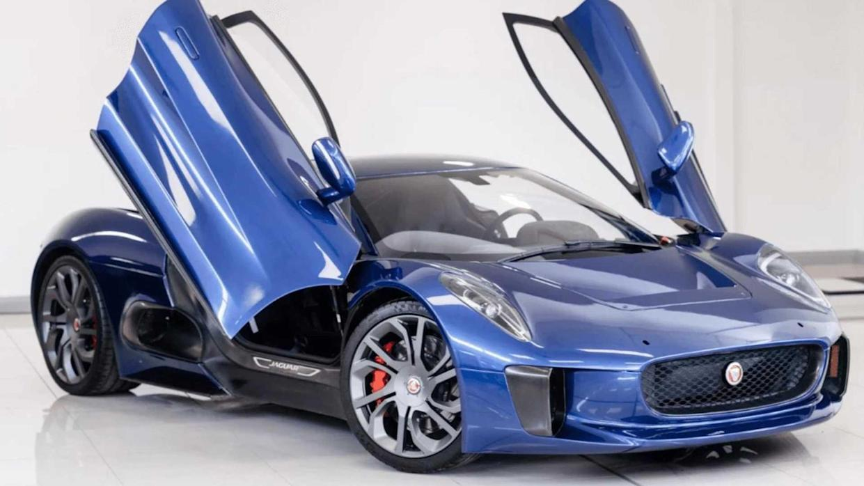 Jaguar C-X75 Spectre Stunt Car For Sale