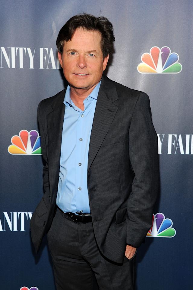 NEW YORK, NY - SEPTEMBER 16: Actor Michael J. Fox attends NBC's 2013 Fall Launch Party Hosted By Vanity Fair at The Standard Hotel on September 16, 2013 in New York City. (Photo by Ben Gabbe/Getty Images)