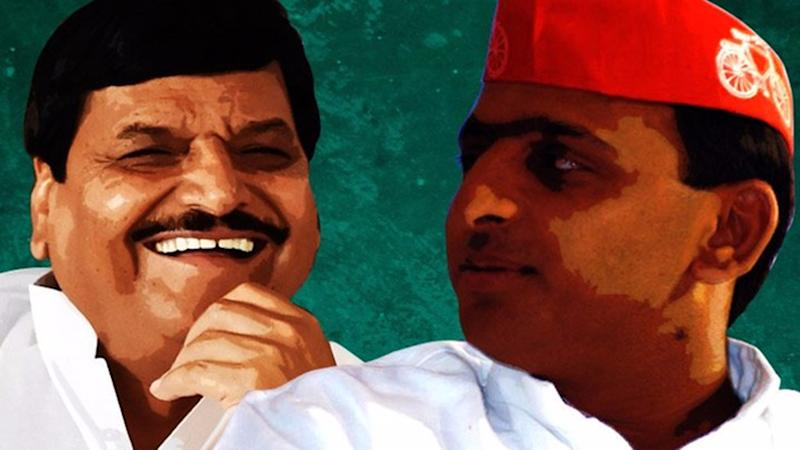 Akhilesh, Shivpal Spotted Together For 1st Time After Yadav Feud