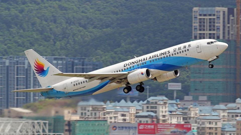 Chinese airline Donghai suspends and fines pilot for allowing wife in cockpit
