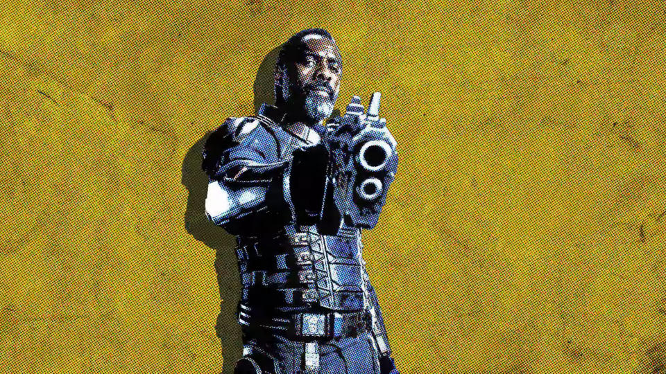 Idris Elba as Bloodsport in 'The Suicide Squad'. (Credit: DC/Warner Bros)