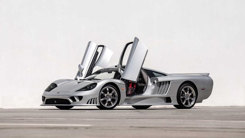 Stunning 2003 Saleen S7 Supercar Is Heading To Barrett-Jackson