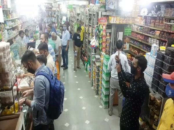 A ration store in Ludhiana, Punjab (Photo/ANI)
