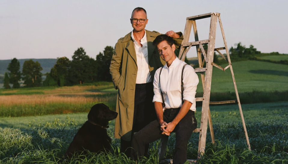 Brent Ridge and Josh Kilmer-Prucell, the founders of Beekman 1802. (Photo: Beekman 1802)