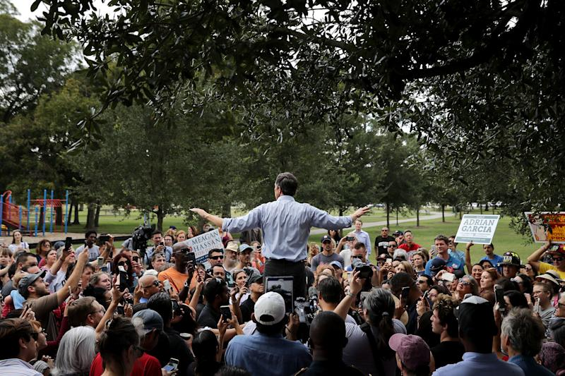 Rep. Beto O'Rourke, the Democratic candidate for Senate in Texas, has raised $31 million from small donors. (Photo: Chip Somodevilla via Getty Images)